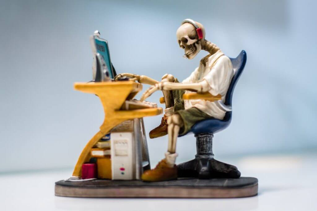 Skeleton using outdated technology